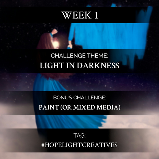 Creation Challenge Week 1 | Light In Darkness